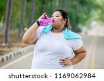 Picture Of Obese Woman Drinking ...