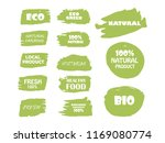 organic  bio  eco  natural... | Shutterstock .eps vector #1169080774