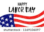 vector illustration labor day a ... | Shutterstock .eps vector #1169106097