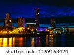 business buildings of the city... | Shutterstock . vector #1169163424