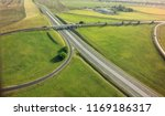 aerial top view of highway... | Shutterstock . vector #1169186317