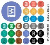 mobile compress data multi... | Shutterstock .eps vector #1169210197