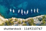 yachts at the sea in france.... | Shutterstock . vector #1169210767