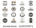 vintage retro vector logo for... | Shutterstock .eps vector #1169219071