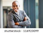 handsome modern african... | Shutterstock . vector #116923099