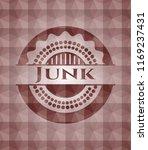 junk red seamless emblem or... | Shutterstock .eps vector #1169237431
