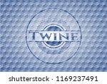 twine blue hexagon emblem.   Shutterstock .eps vector #1169237491
