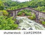 view of the cifte bridge  ...   Shutterstock . vector #1169239054