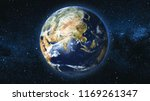 realistic earth planet ... | Shutterstock . vector #1169261347