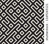 irregular maze line lattice.... | Shutterstock .eps vector #1169265121