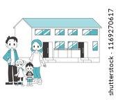 two generational households... | Shutterstock .eps vector #1169270617