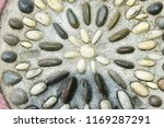 colorful stones wall texture ... | Shutterstock . vector #1169287291