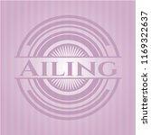 ailing retro pink emblem   Shutterstock .eps vector #1169322637