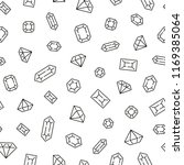 seamless pattern with diamonds. ... | Shutterstock .eps vector #1169385064
