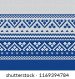 knitted sweater design.... | Shutterstock .eps vector #1169394784