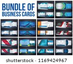bundle of corporate business... | Shutterstock .eps vector #1169424967
