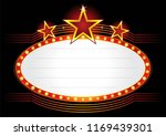 illuminated neon marquee sign | Shutterstock .eps vector #1169439301