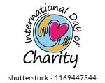 international day of charity in ... | Shutterstock .eps vector #1169447344