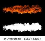 3d rendered smoke digital...   Shutterstock . vector #1169453014