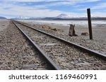 train tracks running across the ...   Shutterstock . vector #1169460991