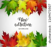 new autumn collection  banner... | Shutterstock .eps vector #1169473507