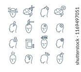 headache  migraine pain...   Shutterstock . vector #1169497051