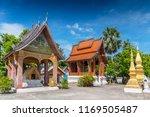 wat sen  luang prabang also... | Shutterstock . vector #1169505487