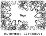 vector illustration  bouquet of ... | Shutterstock .eps vector #1169508091