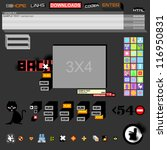 web vector illustration | Shutterstock .eps vector #116950831