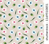 watercolor pattern of pink and... | Shutterstock . vector #1169510851