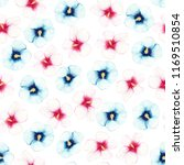 watercolor pattern of pink and... | Shutterstock . vector #1169510854
