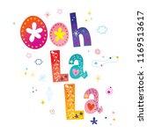 ooh la la   french popular... | Shutterstock .eps vector #1169513617