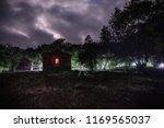 Mountain Night Landscape Of...
