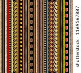 embroidery striped tribal... | Shutterstock .eps vector #1169567887