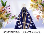 statue of the image of our lady ... | Shutterstock . vector #1169572171