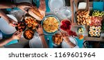 food catering cuisine culinary... | Shutterstock . vector #1169601964