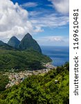 St Lucia In The Caribbean  Is...