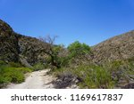hiking trail in morongo valley  ...   Shutterstock . vector #1169617837