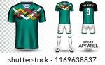 soccer jersey and football kit...   Shutterstock .eps vector #1169638837