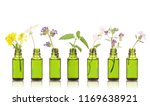natural remedies  aromatherapy  ...   Shutterstock . vector #1169638921