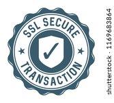 ssl secure transaction label...   Shutterstock .eps vector #1169683864