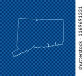 map of connecticut | Shutterstock .eps vector #1169691331
