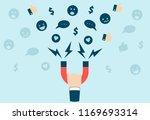 business man or internet... | Shutterstock .eps vector #1169693314