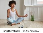 people  ethnicity  yoga and... | Shutterstock . vector #1169707867