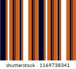 Retro Stripe Pattern With Navy...