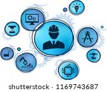 engineering concept ... | Shutterstock .eps vector #1169743687