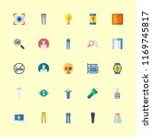 human icons set. clothing ... | Shutterstock .eps vector #1169745817