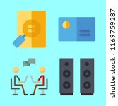 information icons set.... | Shutterstock .eps vector #1169759287