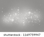 dust white. white sparks and... | Shutterstock .eps vector #1169759947