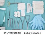 surgical instruments and tools...   Shutterstock . vector #1169766217
